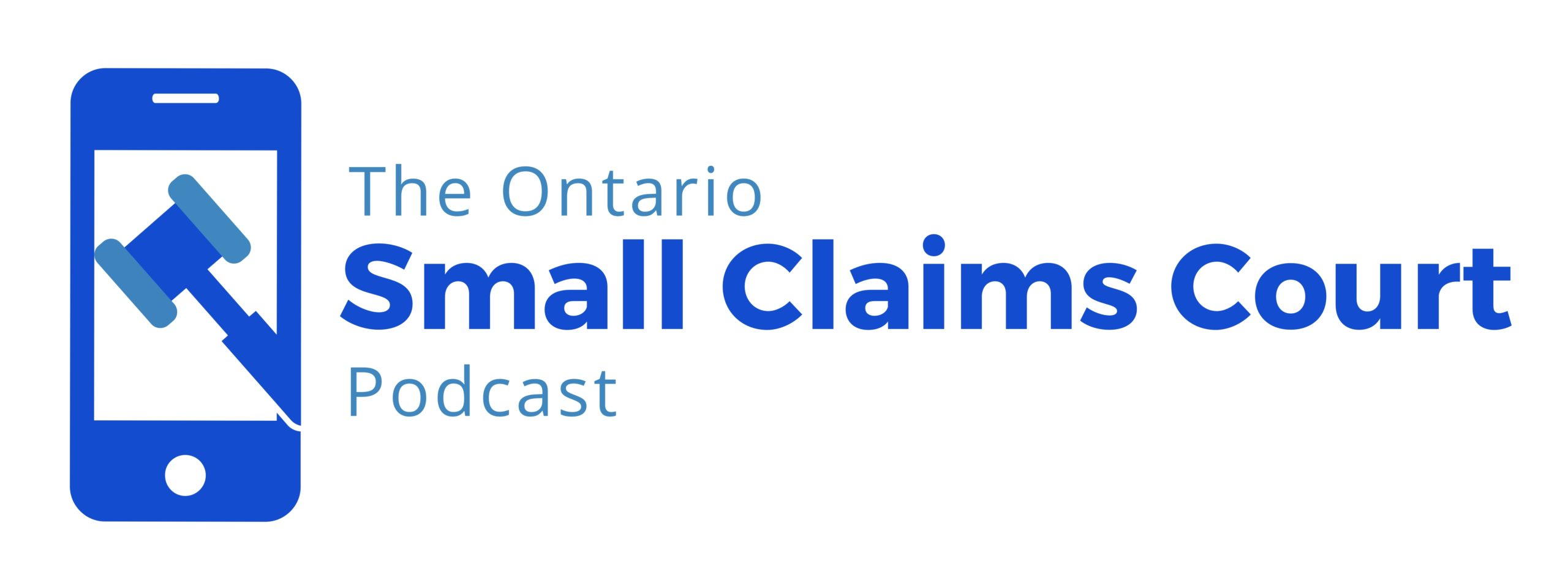 Logo for The Ontario Small Claims Court Podcast